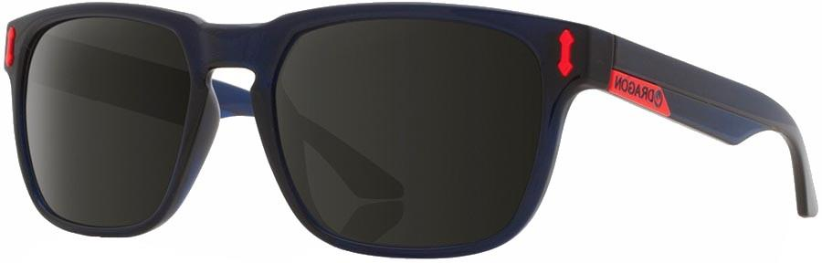Dragon Monarch Smoke Lens Sunglasses, M Crystal Navy