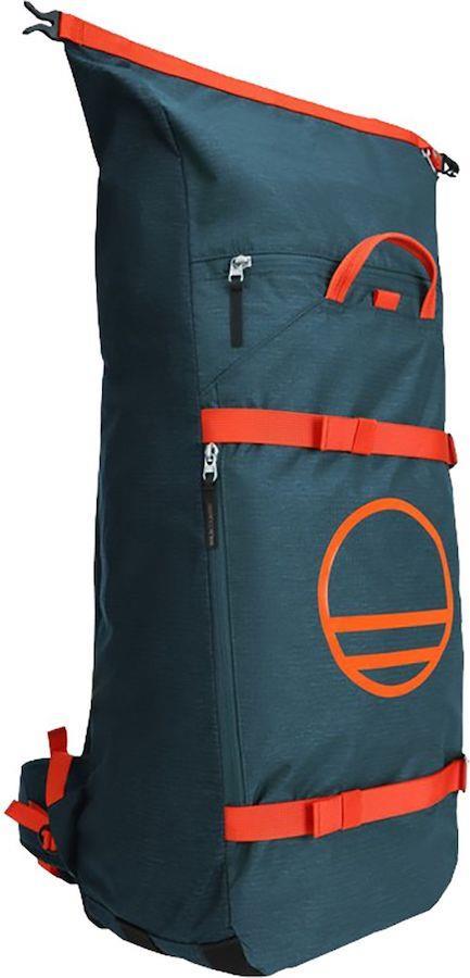 Wild Country Stamina Rock Climbing Gear Bag/Backpack, 41L Petrol