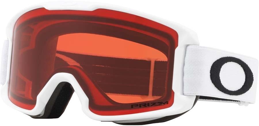 Oakley Line Miner Youth Rose Snowboard/Ski Goggles, S Matte White