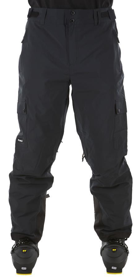 Planks Adult Unisex Good Times Insulated Ski/Snowboard Pants, L Black