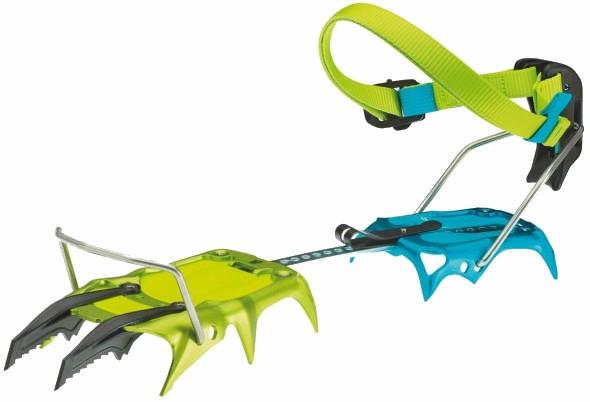Edelrid Beast Lite Lightweight Alpine Crampon, Uk 1.5-13 | Eu 34-48 Oasis-Icemint