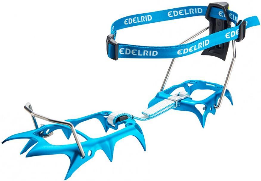 Edelrid Shark Lite Alpine Crampon, Uk 1.5-13   Eu 34-48 Icemint