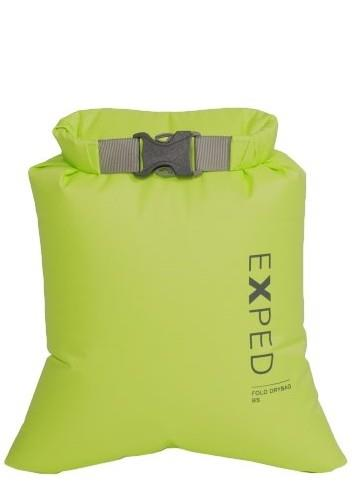 Exped Fold Drybag Bs Waterproof Kit Bag, Xxs / 1l Lime