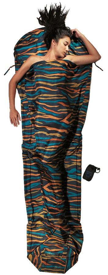 Cocoon MummyLiner Silk Ultralight Sleeping Bag Liner, African Night