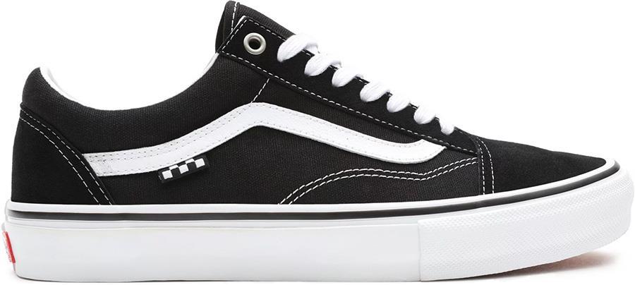 Vans Skate Old Skool Trainers/Shoes, UK 7 Black/White