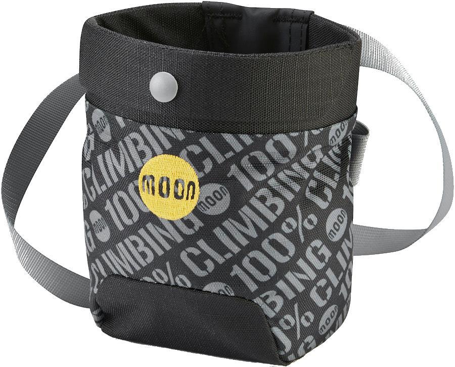 Moon Sport Rock Climbing Chalk Bag, 100% Black