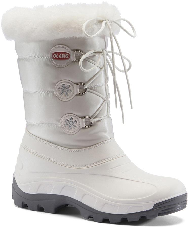 Olang Patty Winter Snow Boots UK 7.5/8 White
