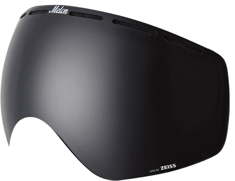 Melon Chief Ski/Snowboard Goggle Lens, One Size Dark Smoke