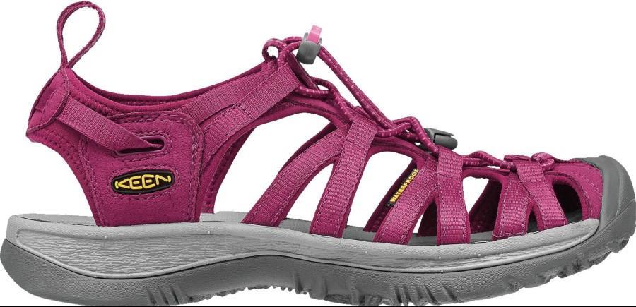 Keen Whisper Women's Walking Sandals, UK 8 Beet Red/Honeysuckle