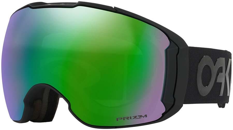Oakley Airbrake XL Prizm Jade Snowboard/Ski Goggles, L F.P Blackout