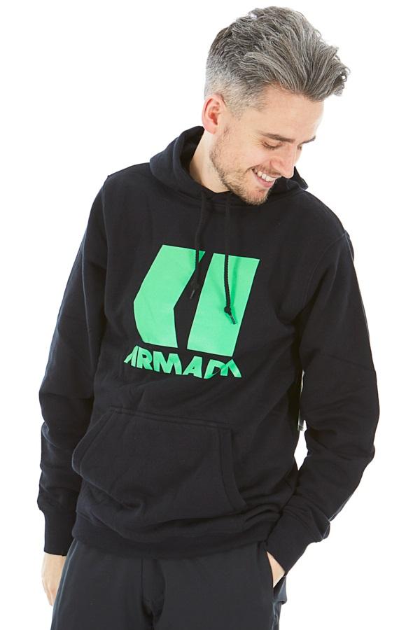 Armada Icon Snowboard/Ski Hoodie, S Black