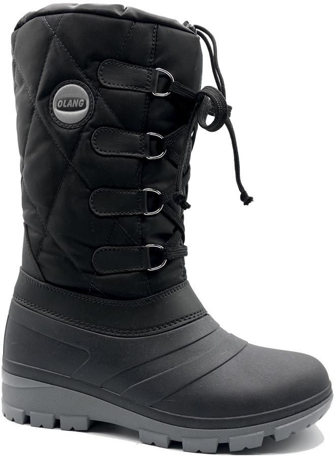 Olang Fantasy Women's Winter Snow Boots UK 2.5/3.5 Black