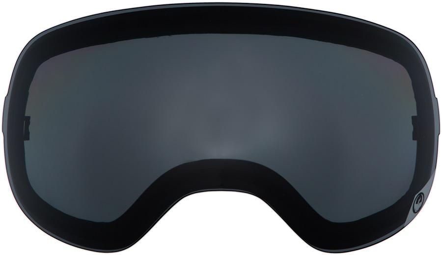Dragon X2s Snowboard/Ski Goggle Spare Lens LumaLens Dark Smoke