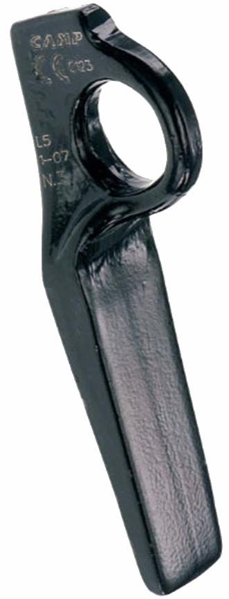 Black Diamond Lost Arrow Piton Aid Climbing Protection, NO.4 Black