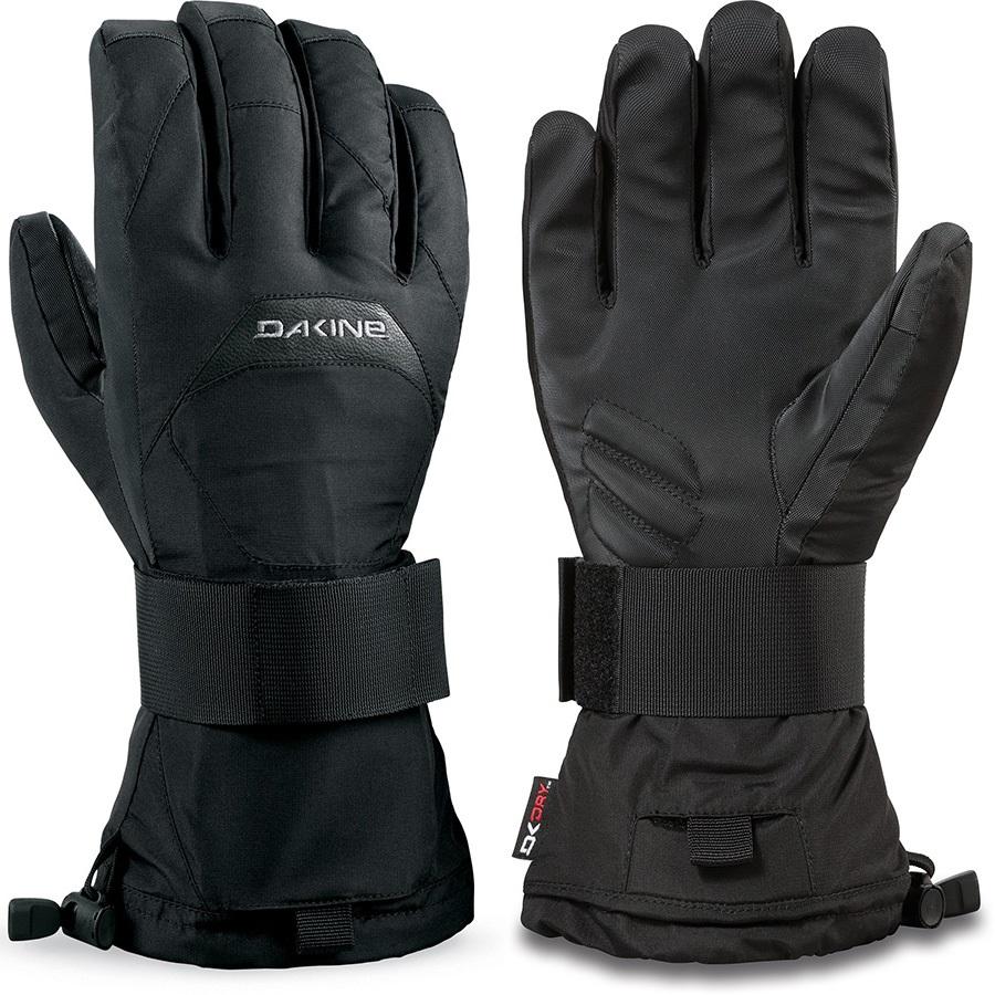 Dakine Wristguard DK Dry Ski/Snowboard Gloves, XL Black