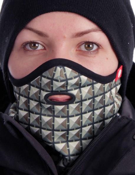 Airhole Standard Ergo Ski/Snowboard Face Mask S/M Studs