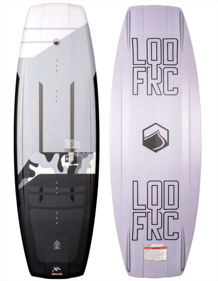 Liquid Force RDX Aero Boat Wakeboard, 138 Grey Black 2021