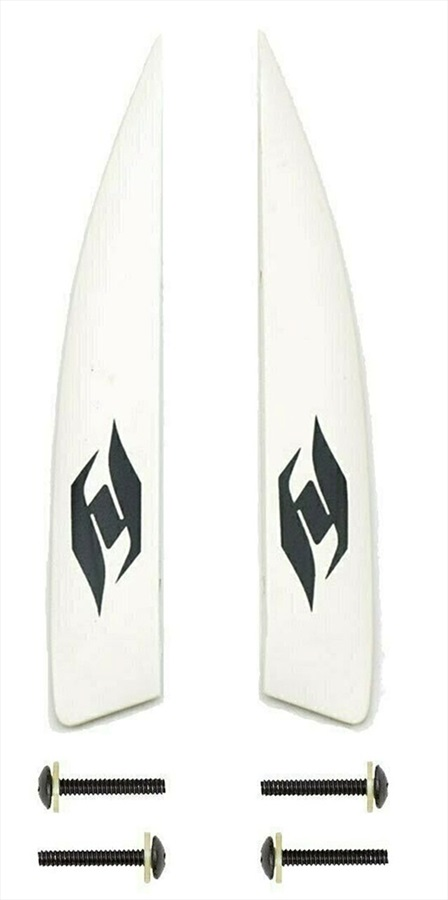 Hyperlite 0.8 A-Wing Wakeboard Fin Kit, 2 Pack White 2021