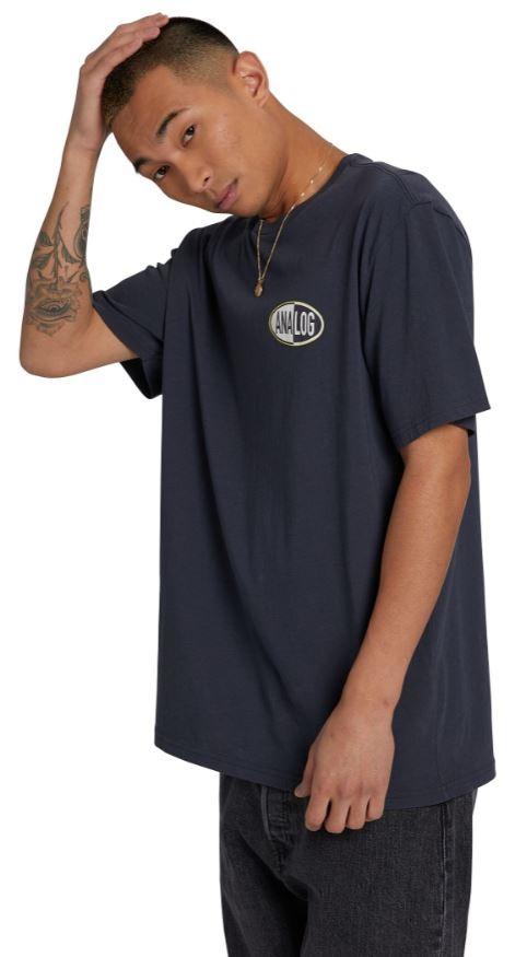 Analog Adult Unisex Stunt Unisex Short Sleeve T-Shirt, S India Ink