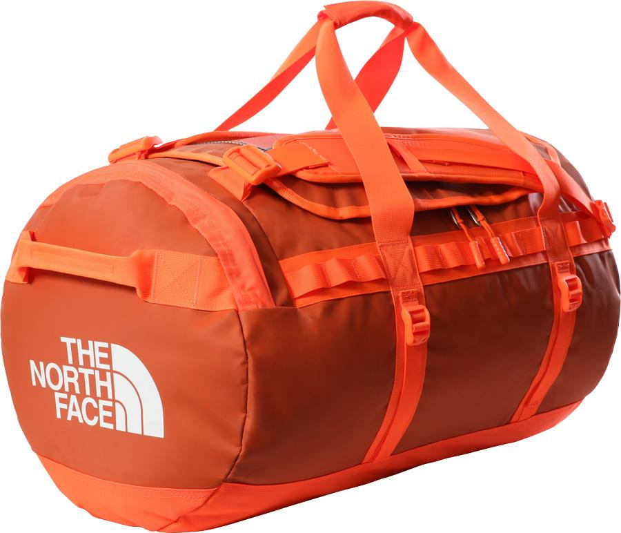 The North Face Base Camp Duffel Bag/Backpack, M Burnt Ochre/Power