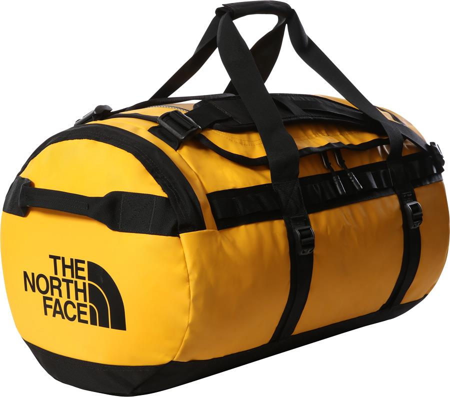 The North Face Base Camp Duffel Bag/Backpack, M Summit Gold/TNF Black