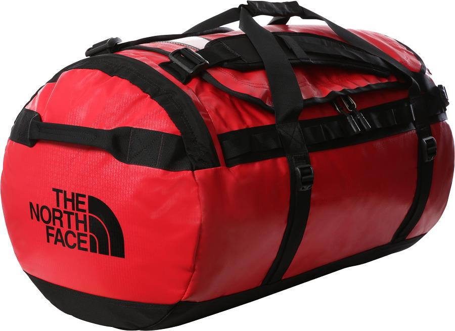 The North Face Base Camp Duffel Bag/Backpack, L TNF Red/TNF Black