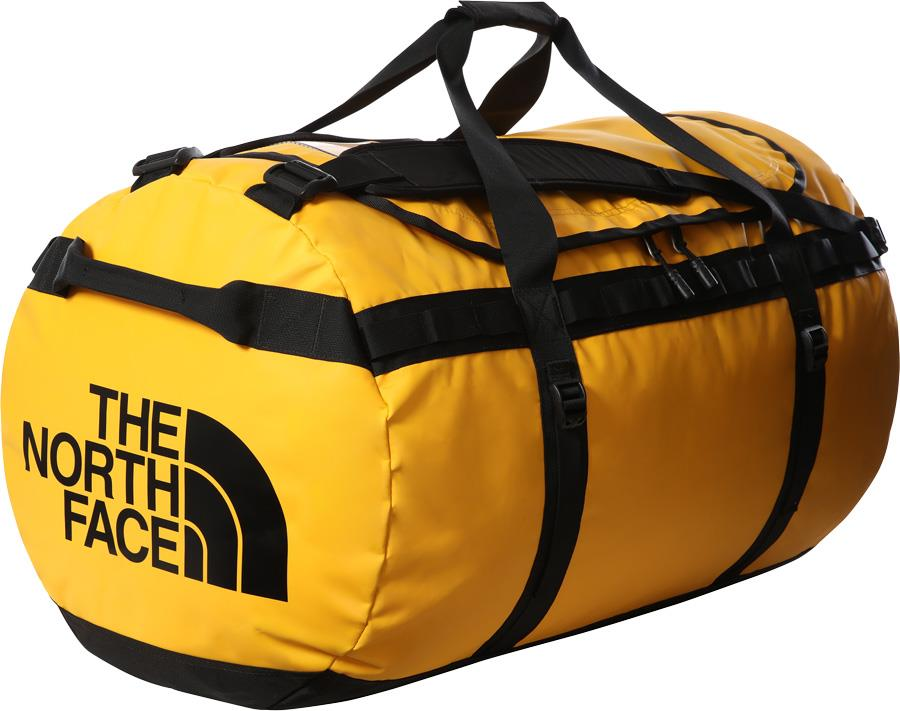 The North Face Base Camp Duffel Bag/Backpack XL Summit Gold/TNF Black