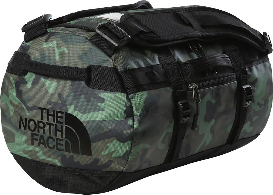 The North Face Adult Unisex Base Camp Duffel Bag/Backpack, Xs Thyme Brushwood Camo