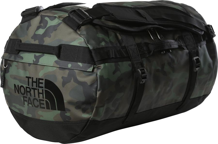 The North Face Base Camp Duffel Bag/Backpack, S Thyme Brushwood Camo