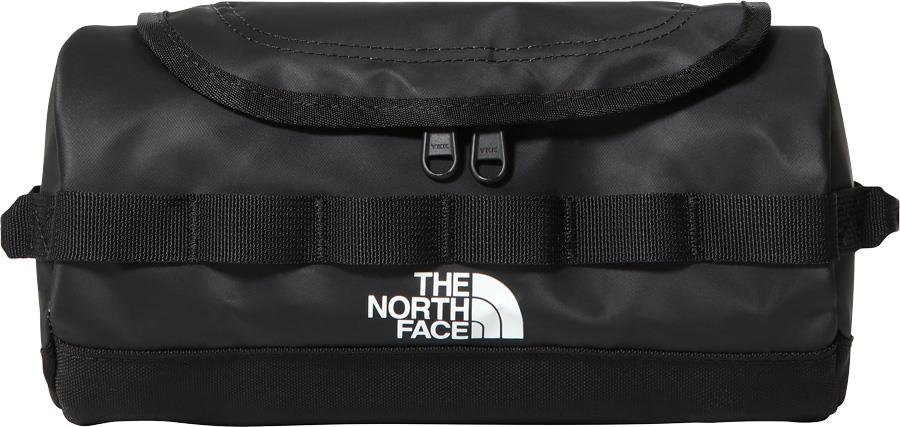 The North Face Base Camp Travel Canister Wash Bag, S TNF Black/White