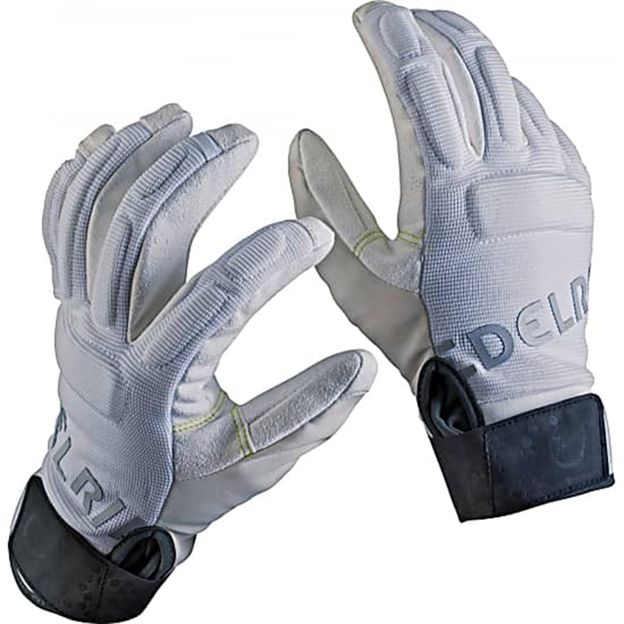 Edelrid Sticky Rock Climbing Gloves, L, Snow