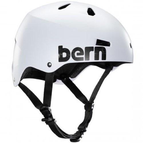 Bern Macon H2O Watersports Helmet, XL Matte White Distressed