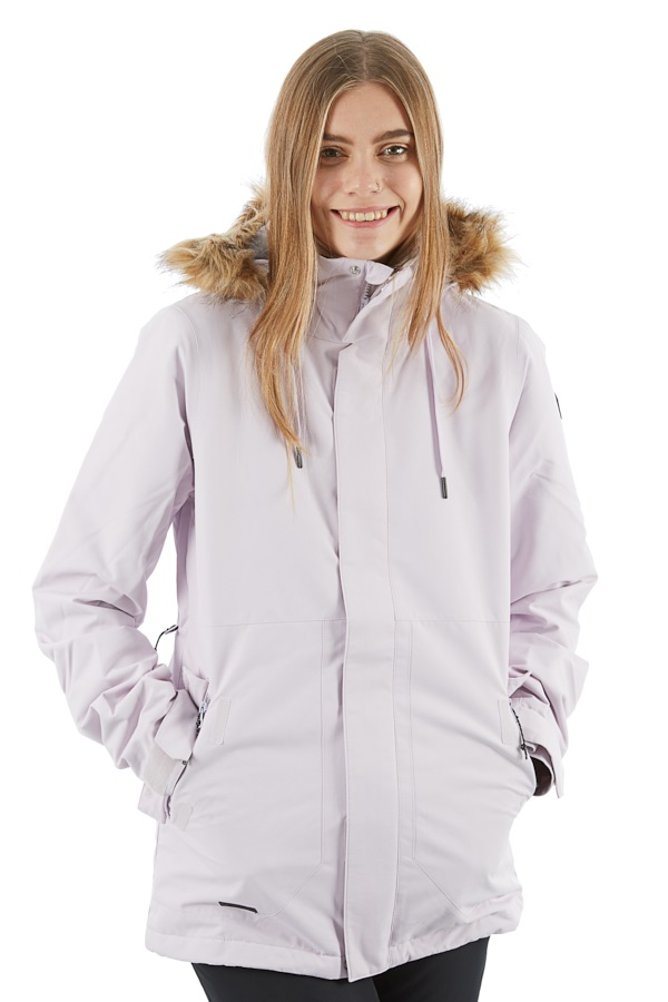 Volcom Fawn Insulated Women's Ski/Snowboard Jacket S Violet Ice