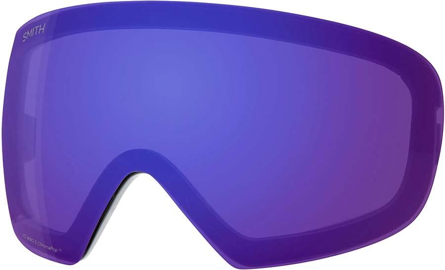 Smith I/O MAG S Snowboard/Ski Goggle Spare Lens, CP ED Violet