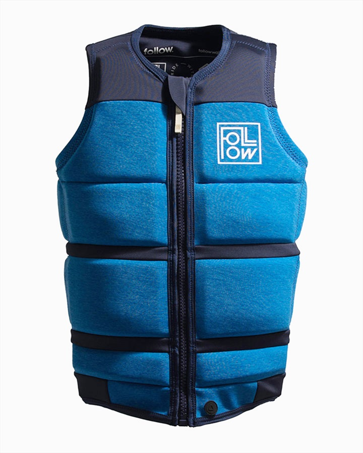 Follow Surf Edition Wakeboard Impact Vest Jacket, S Blue 2021