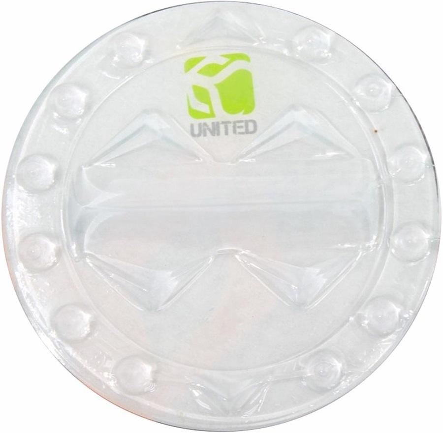 "Demon United Round Adhesive Snowboard Stomp Pad, 4.9"" Clear"