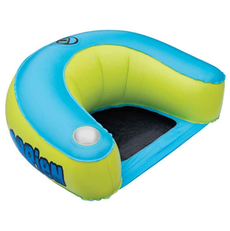 O'Brien EZ Chair Lilo Leisure Float Inflatable, 1 Rider Green Blue
