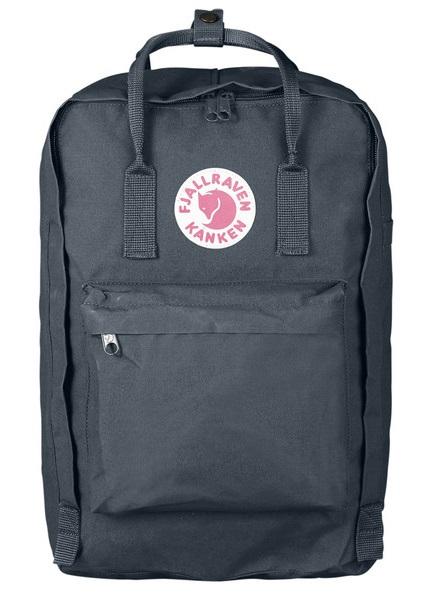 """Fjallraven Kanken Laptop 17"""" Day Pack/Backpack, 20L Graphite"""
