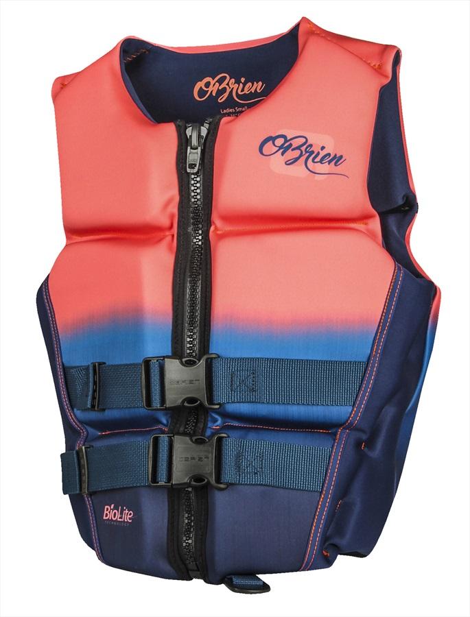 O'Brien Flex V-Back Ladies Buoyancy Aid Impact Vest, XL Coral