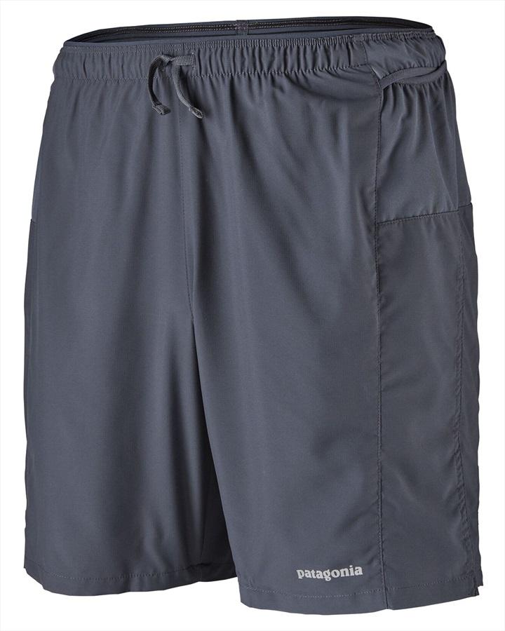 "Patagonia Adult Unisex Strider Pro 7"" Running Shorts , S Smoulder Blue"