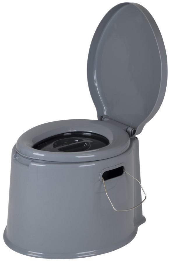 Bo-Camp Portable Toilet Lightweight Camping & Travel Loo, 7l