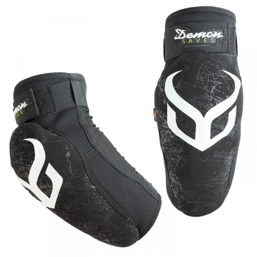 Demon Adult Unisex Hyper Elbow Xd3o Ski/Snowboard Pads, Xl Black/White