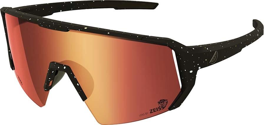 Melon Adult Unisex Alleycat Red Chrome Performace Sunglasses, M/L Paint Splat