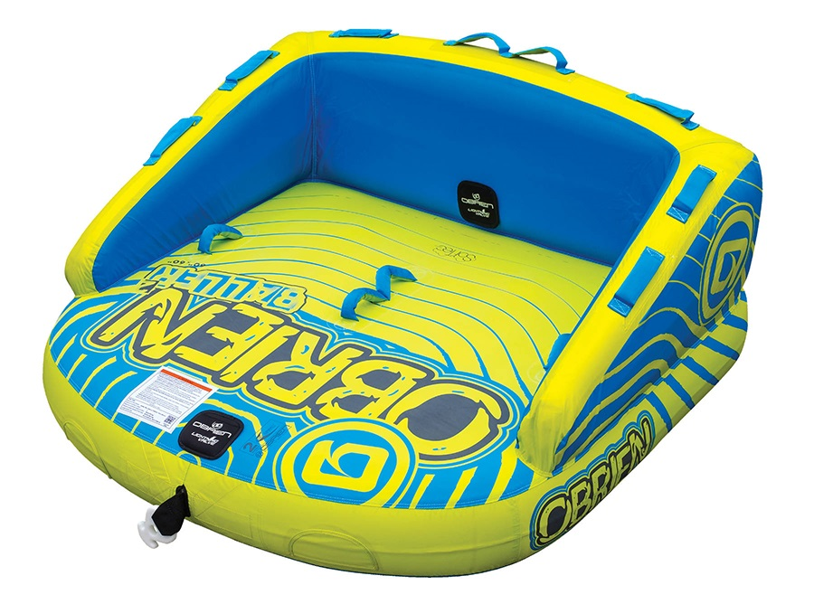 O'Brien Baller ST Towable Inflatable Tube, 2 Rider Yellow 2021