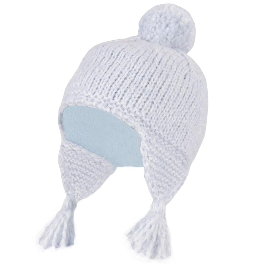 Manbi Women's Fluffy Salsa Ski/Snowboard Bobble Hat, 54-58cm Blue