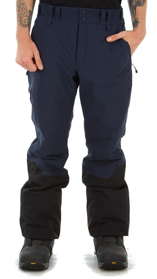 Peak Performance Rider Ski Insulated Snowboard/Ski Pants, M Blue