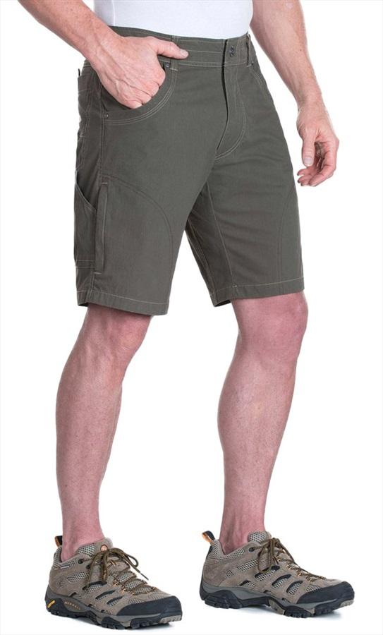 """Kuhl Ramblr Climbing/Hiking Shorts, 30"""" Gun Metal"""