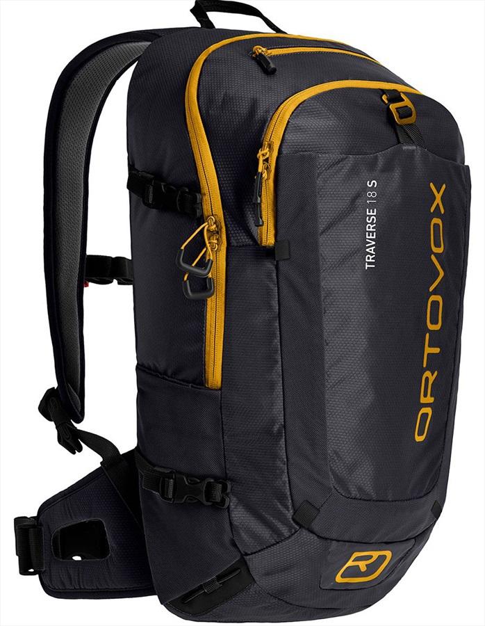 Ortovox Adult Unisex Traverse 18 S Short Mountaineering Backpack/Rucksack, 18l Black Raven