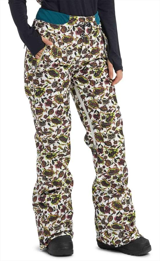 Burton Loyle Women's Ski/Snowboard Pants, S Whit Floral
