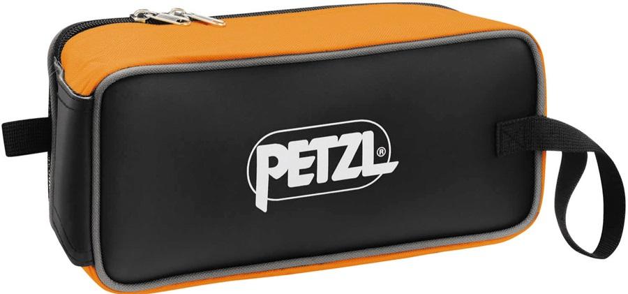 Petzl Fakir Pack Crampon Storage Bag, Black/Orange